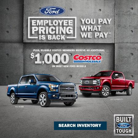 Ford Employee Pricing on Trucks