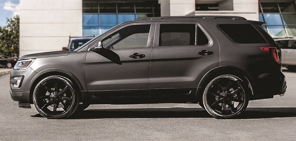 Curtis Lazar Edition 2016 Ford Explorer Sport