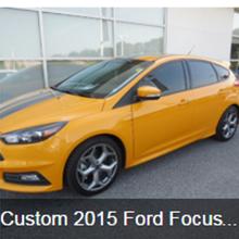 Custom 2015 Ford Focus