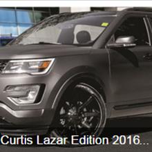 Curtis Lazar Edition 2016 Ford Explorer Sport