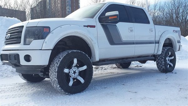 Personalized F-150 FX4