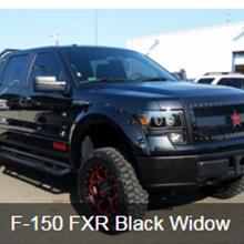 F-150 FRX Black Widow