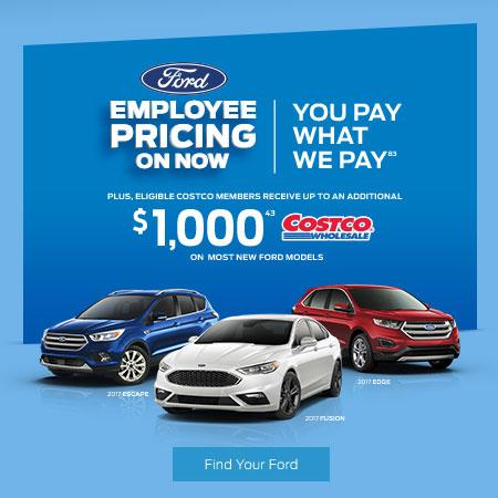 Ford Employee Pricing