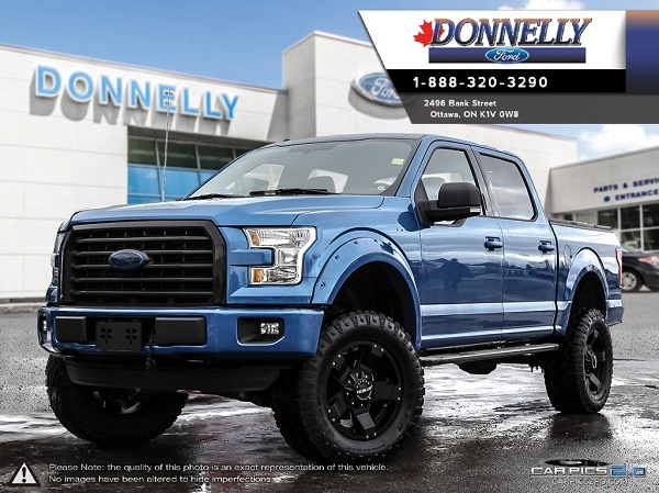 Custom 2016 Blue Flame Metallic F-150