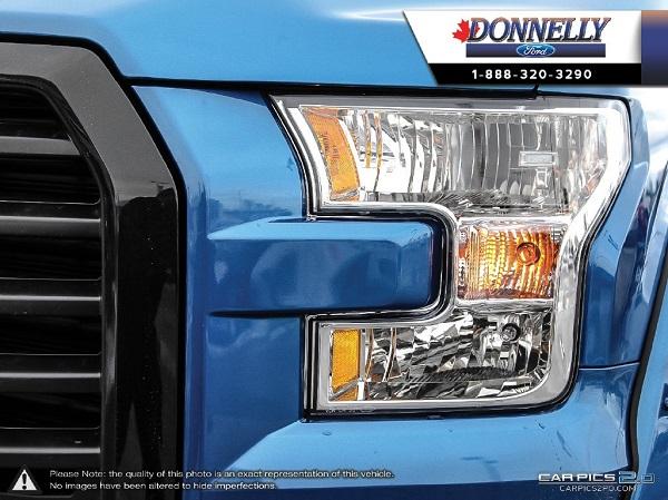 Custom 2016 Blue Flame Metallic F-150