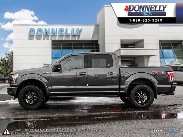 Custom F 150 >> Custom 2016 F 150 Fx4 Donnelly Ford