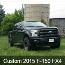 Custom 2015 F-150 FX4