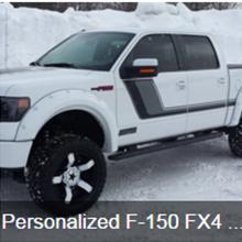 Personalized F-150 FX4