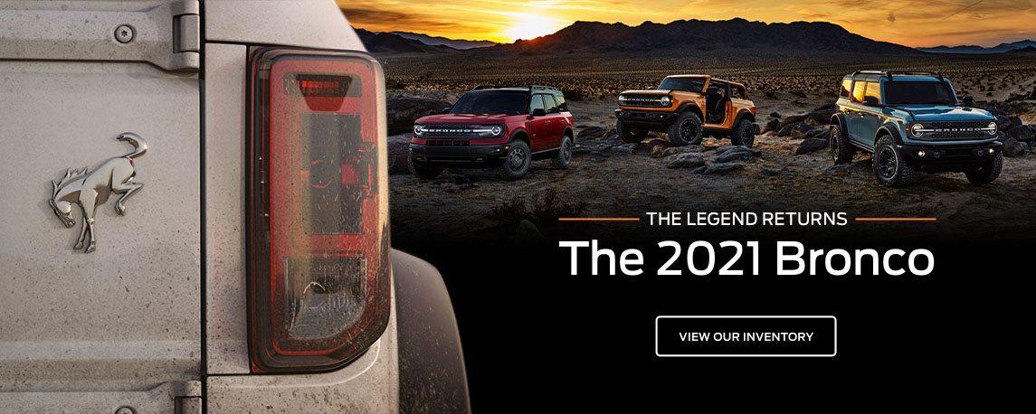 The 2021 Bronco